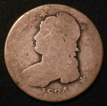 1834-P Capped Bust Silver Half Dollar. - $43.48