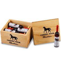 DOLLHOUSE Case of Premier Red Wine Set 1.853/6 Reutter Bottles Miniature  - $21.35