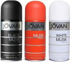 Jovan Combo Offer Deodorant Spray, 150 ml ( pack of 2) free shipping world - $84.95