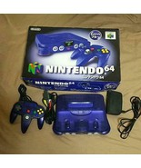 Nintendo 64 Console Midnight Blue From Japan Official Import - $247.49
