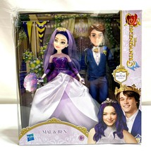 Disney Descendants 3 Mal and Ben The Royal Wedding Doll Set  - $38.68