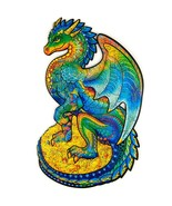 """Unidragon Wooden Jigsaw Puzzles """"Guarding Dragon"""" Wooden Puzzles for Adu... - $39.99"""