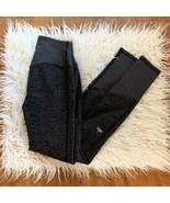 ALO Yoga High Waist High Rise Lounge Ribbed Dark Heathered Gray Legging ... - $59.37