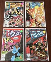 Comic Books The New Mutants #4-#10-#11-#13 Marvel Comics Lot Of 4 - 1983 - $15.82