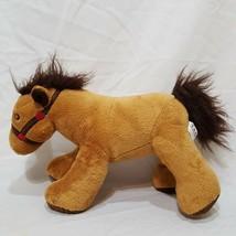 "Standing Horse Tan  "" Plush Stuffed Animal Toy T.A.G. Pony - $19.99"