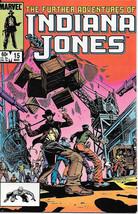 The Further Adventures of Indiana Jones Comic Book #15 Marvel 1984 NEW N... - $4.50