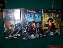 Lot of 3 Nintendo Gamecube games- X2 Wolverine's Revenge, Harry Potter - $25.00