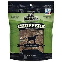 Redbarn Beef Lung Choppers Dog Chew, 9 Ounce 1-Count