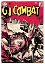 G.I. Combat #77 comic book 1959-DC-greytone cover-Joe Kubert-Russ Heath - $56.75