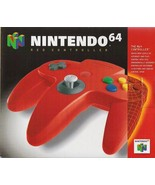 Nintendo 64 Controller Red Great Condition Fast Shipping - $26.94
