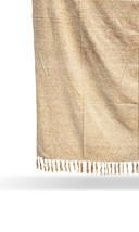 Beige Chenille Handloom Chic Blanket, Sofa Throw, Cotton Handmade Throw ... - €53,47 EUR