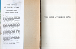 The House At Noddy Cove By Elizabeth Foster (Hardcovered 1949) image 2
