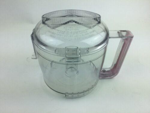 Cuisinart DLC-2AWB & 2AWBC Mini-Prep Plus Food Processor Pink Bowl And Lid image 3
