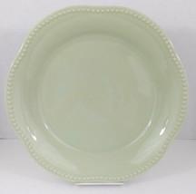 "Pottery Barn Emma 13"" x 1 3/4"" Serving Dish - Sage Green Beaded Rim - Po... - €24,35 EUR"