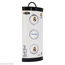 3 REAL MADRID FOOTBALL CLUB CRESTED GOLF BALLS - $12.35