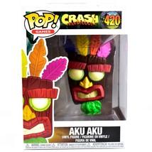 Funko Pop! Games Crash Bandicoot Aku Aku #420 Vinyl Action Figure IN STO... - $15.14