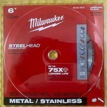 """Milwaukee 49-93-7815 6"""" STEELHEAD Diamond Cut-Off Saw Blade - $17.82"""
