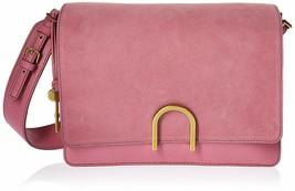NWT Fossil Filney Shoulder Bag Wild Rose Leather & Suede ZB7455671 $258 ... - $129.99