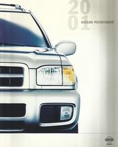 2001 Nissan PATHFINDER sales brochure catalog US 01 XE SE LE - $8.00