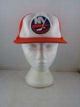 New York Islanders Crested Hat (VTG) - 100% Polyester Hat - Adult Snapback - $65.00