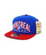MONTREAL EXPOS - AMERICAN NEEDLE SNAPBACK MLB LOGO BASEBALL CAP HAT - RE... - $19.90