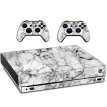 VWAQ Xbox One X Skin Marble White | Vinyl Wrap Decal Cover Sticker Skins... - $14.99