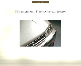 1992 Honda ACCORD sales brochure catalog US 92 DX LX EX sedan coupe wagon - $8.00