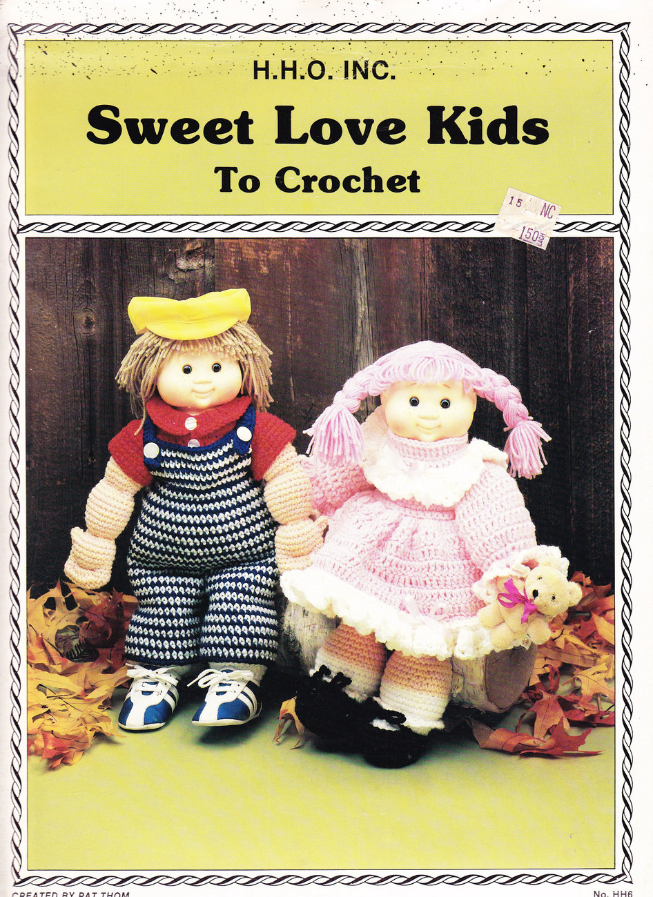 Primary image for  CROCHET SWEET LOVE KIDS TO CROCHET