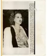 Angry Maria Montez Sues Atlantis Producer Original 1950 Phot - $14.99