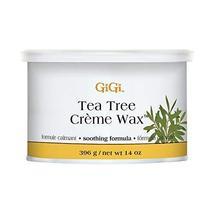 GiGi Tea Tree Creme Wax Antiseptic Formula 396g/14oz image 2