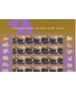 YEAR OF THE HORSE 2014 LUNAR NEW YEAR S/SHEET - USA MINT FOREVER Stamps - $14.95