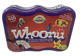 Whoonu Card Game by Cranium 2008 Edition in Collector Tin - 100% Complete! - $23.07