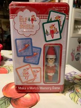 2014 The Elf on the Shelf MAKE A MATCH MEMORY GAME COLLECTOR'S TIN w ELF... - $14.99