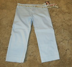"Dickies Girl's Size 9 Pants  Stretch Fabric Waist 34"" x Inseam 23.5"" Lig... - $14.80"
