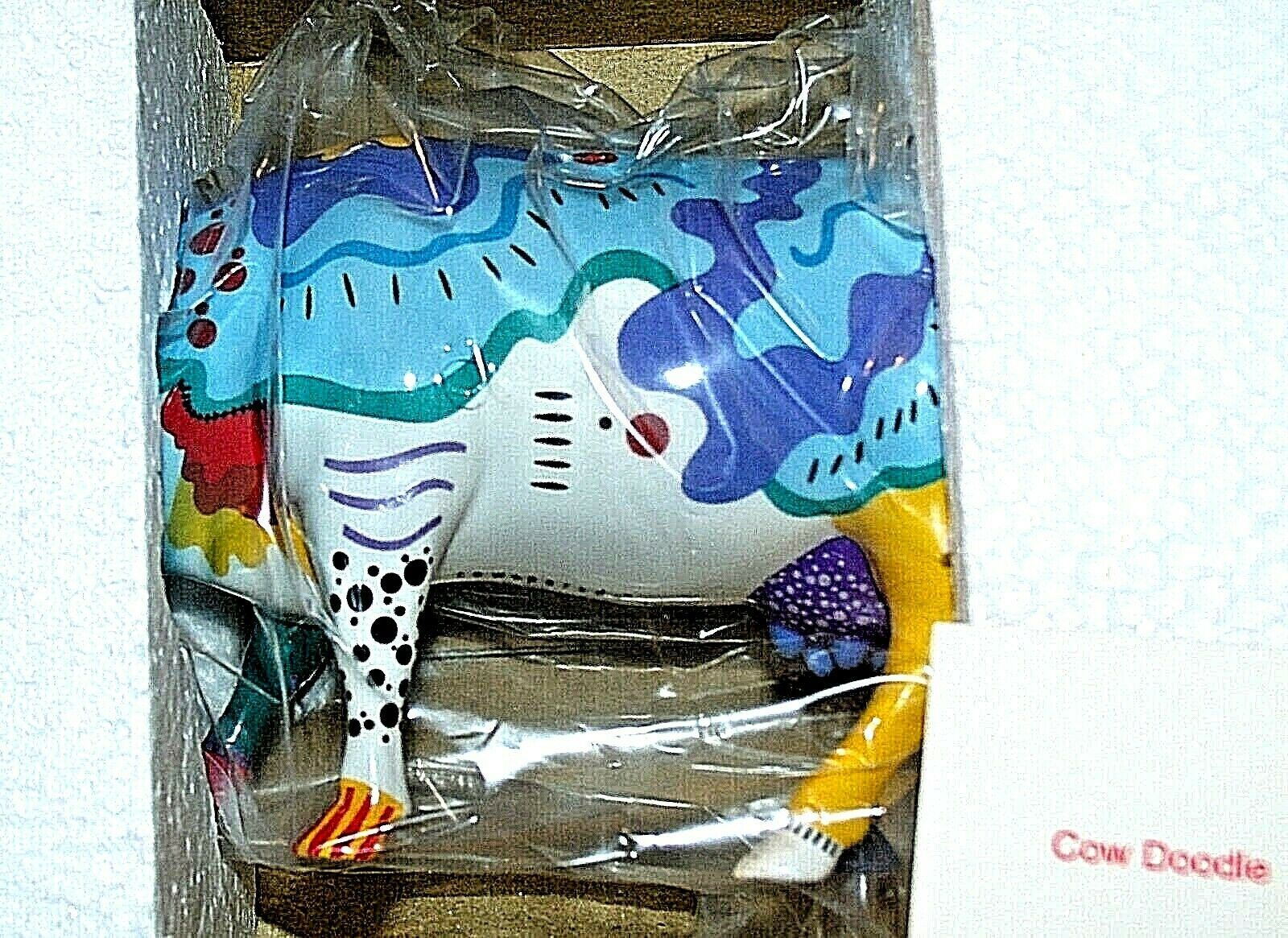 Cows on Parade Cow Doodle Item # 9194 Westland Giftware AA-191874 Vintage Colle