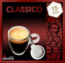 15 Italian Espresso Pods ESE. Karoma (Napoletano) Strong Blend. 2-3 Day ... - $9.20