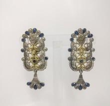 Dual Tone New Designer Earrings Indian Jewelry Ethnic Traditional Fashio... - $31.25