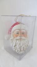 Christmas Ceramic Santa Claus Light-Up Head Ornament #2 - $9.49