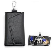 BaouBow Leather Key bag Wallets 6 Key Hooks Unisex Holder Car Keychain K... - $17.17