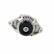 CHROME MINI ALTERNATOR DENSO STREET ROD RACE 1-WIRE 90 AMP one wire street rod image 2