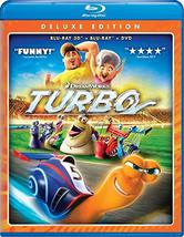 Turbo (Blu-ray 3D + Blu-ray + DVD) (2010)