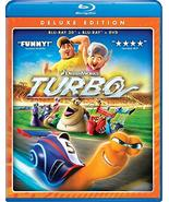 Turbo (Blu-ray 3D + Blu-ray + DVD) (2010) - $5.95