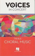 Hal Leonard Voices in Concert, Level 4 Mixed Choral Music Book (EXPERIEN... - $10.99