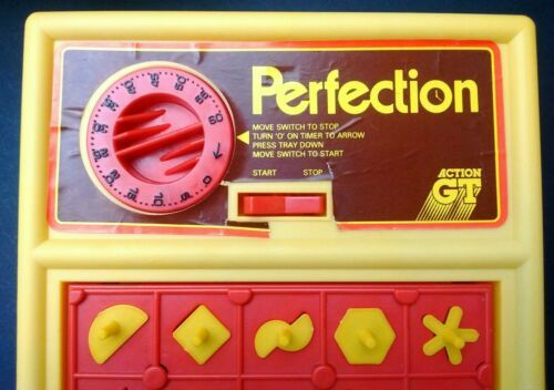 Vintage 1980s PERFECTION 100% Original, Working & Complete Boxed Game Action GT image 5