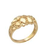 10K Yellow Gold Elegant Nugget Ring - $249.99