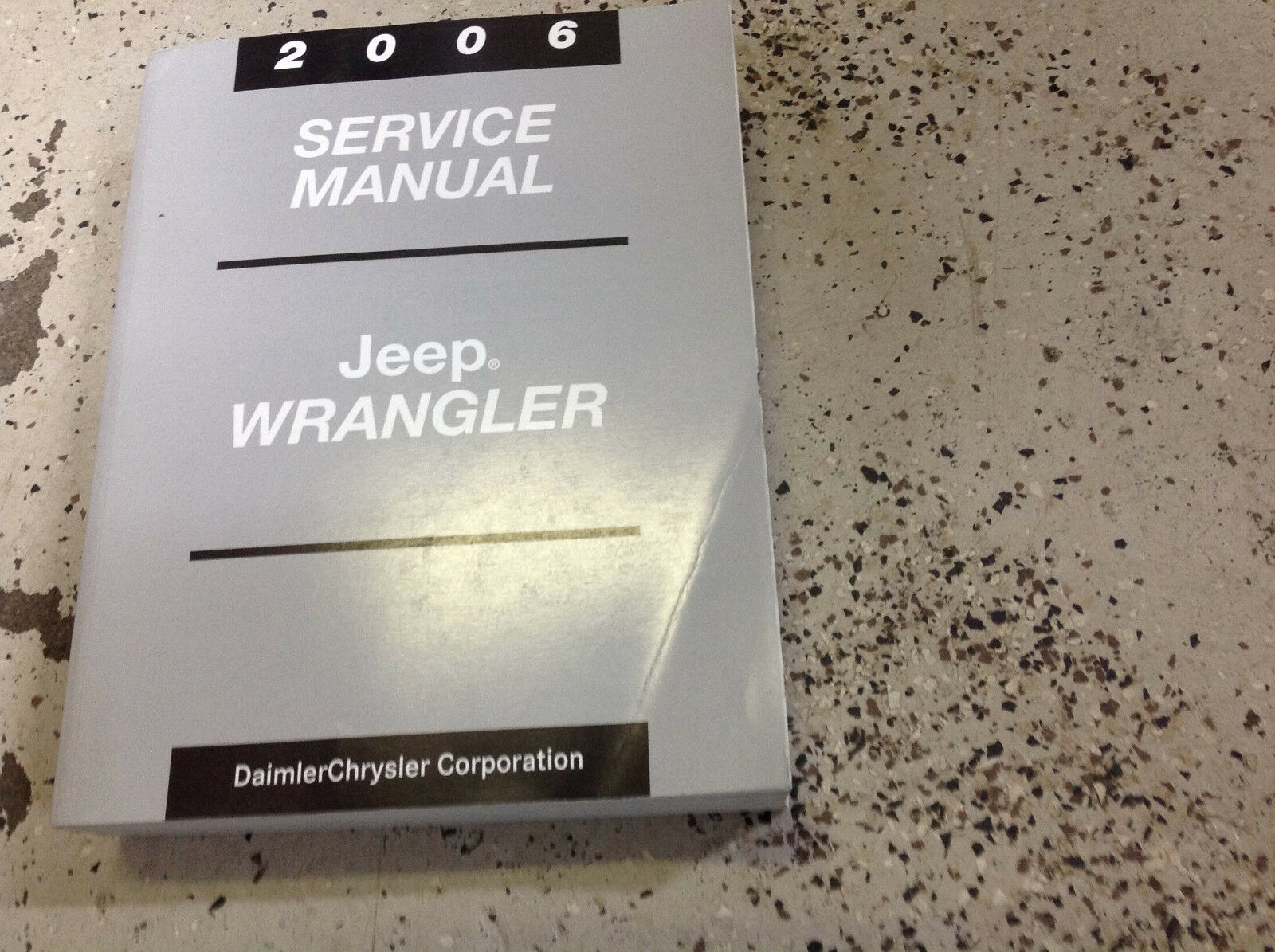 2006 JEEP WRANGLER Service Shop Workshop Repair Manual FACTORY BOOK OEM Mopar