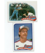 1989 Topps Montreal Expos Team Set with Randy Johnson Rookie - $2.65