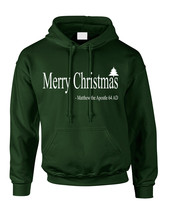 Adult Hoodie Matthew The Apostle Merry Christmas Gift Idea - $29.94+