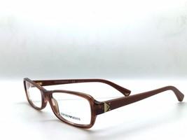 Emporio Armani Eyeglasses EA 3016 5099 Striped Brown, Size 53-16-135 - $67.87