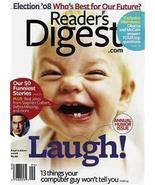 READER'S DIGEST SEPT2008-50 FUNNIEST STORIES,BEST JOKES - $3.97